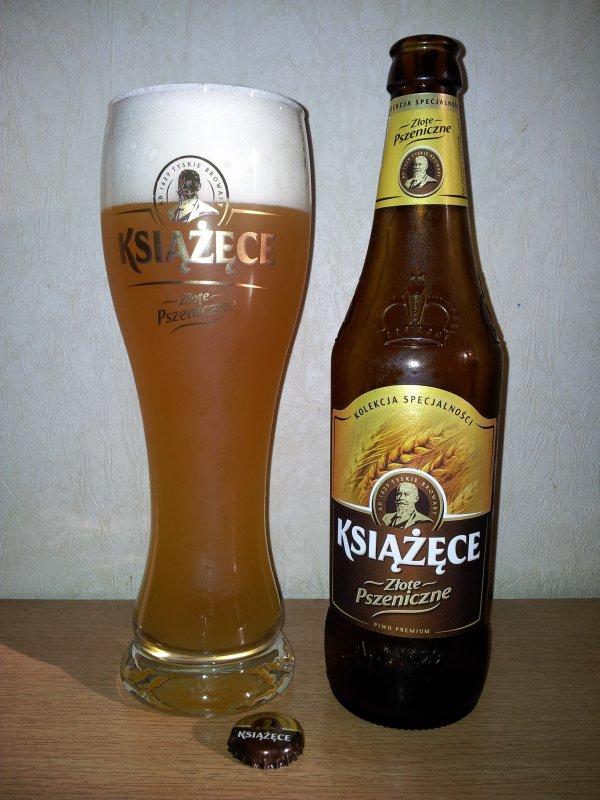 Książęce Złote Pszeniczne Piwo Alternatywnie