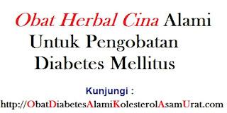 Obat Herbal Cina Alami untuk pengobatan diabetes mellitus