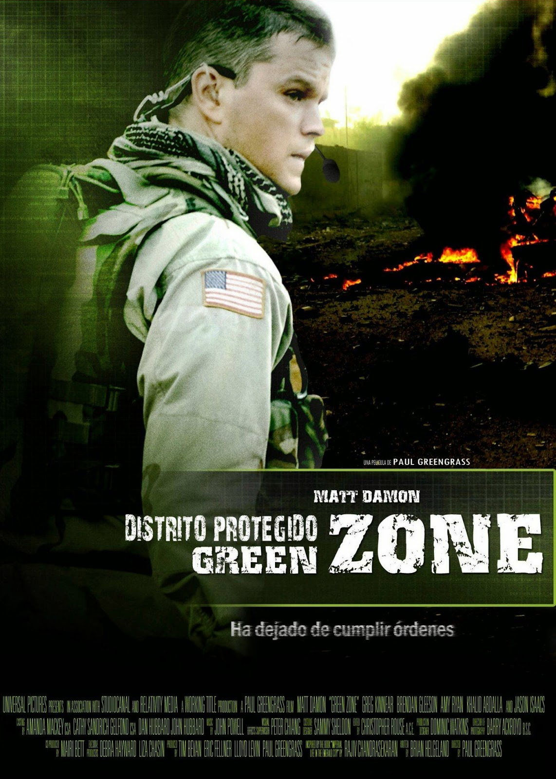 Green Zone โคตรคนระห่ำ ฝ่าโซนเดือด [HD][พากย์ไทย]