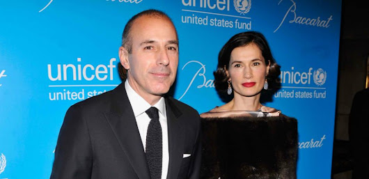 'Everybody feels betrayed': Matt Lauer's wife Annette Roque ditches wedding ring, her father says pair will divorce