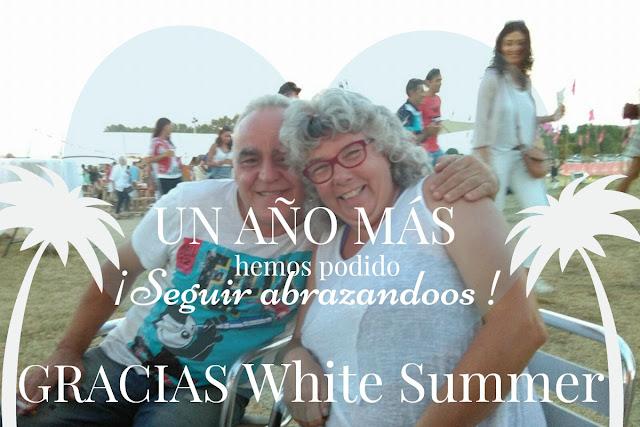 Nuestro agradecimiento por las emociones vividas en White Summer 2016. Associacio deixalatevaempremta.org