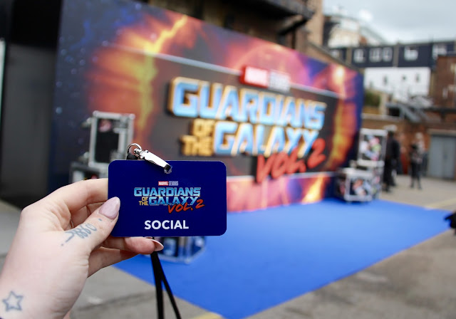 Guardians of the Galaxy Vol.2 Gala pass