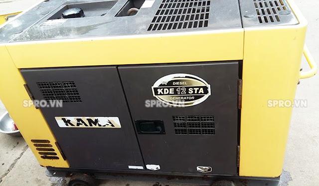 Máy phát điện gia đình chạy dầu KAMA 2.8KVA KDE3500T