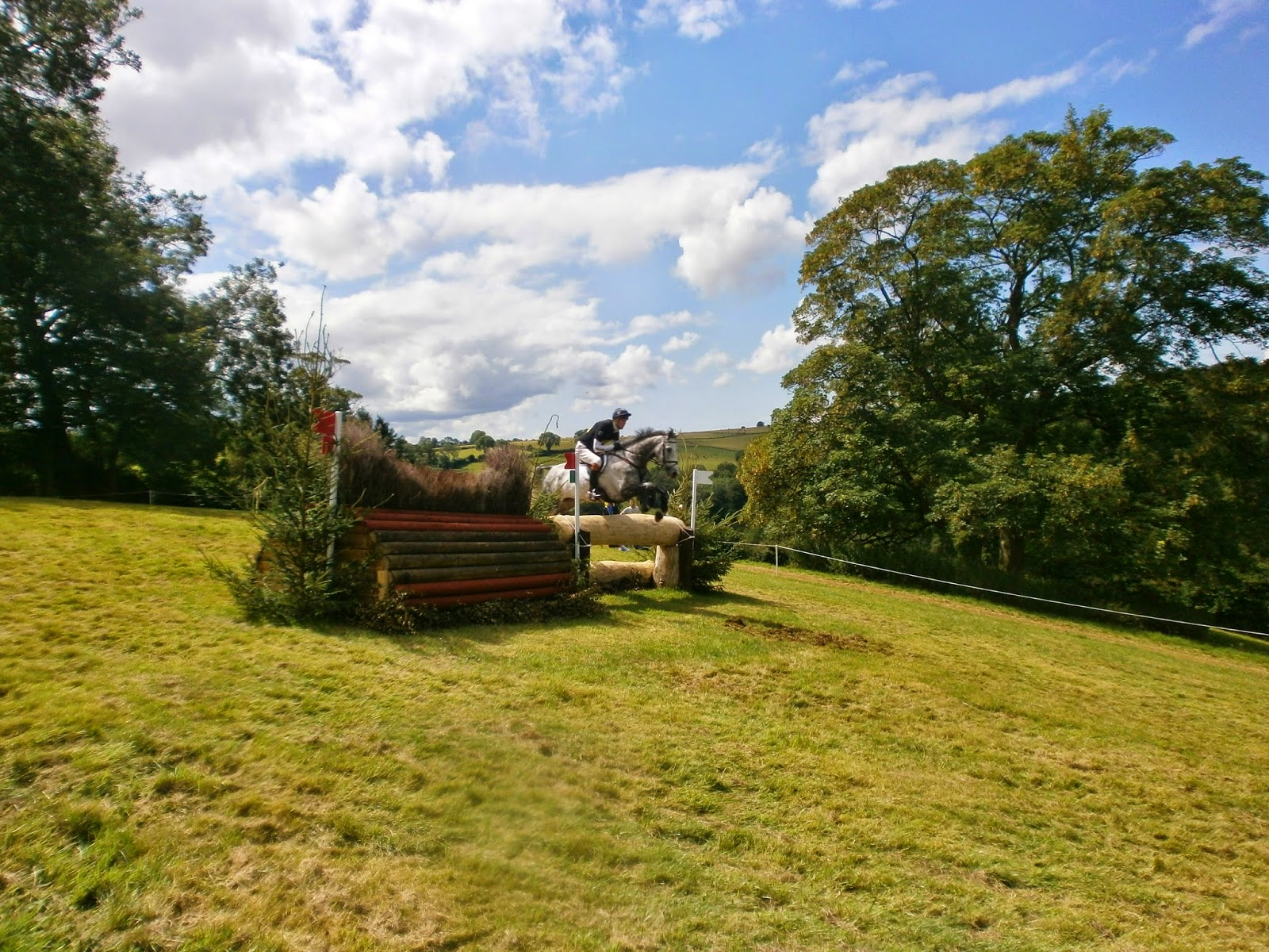 William Fox-Pitt competing at Gatcombe