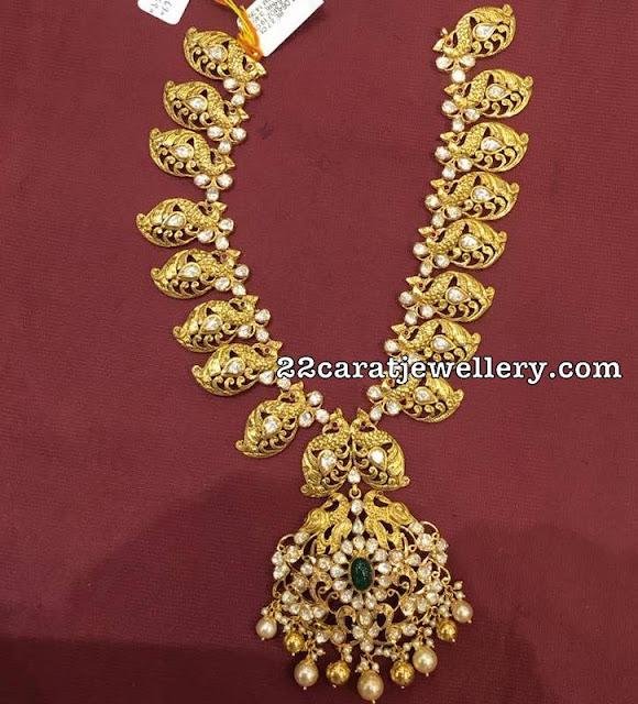 Trendy Light Weight  Mango Necklace