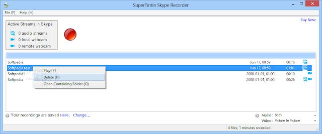 تحميل برنامج مسجل مكالمات سكايب صوت + فيديو Skype Recorder