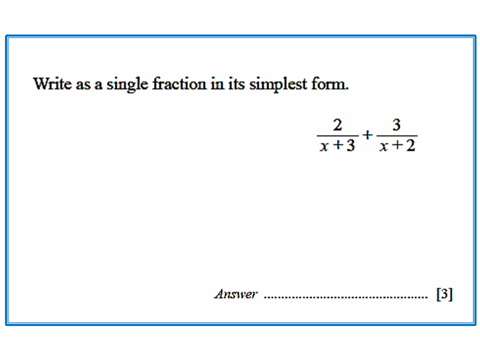 simplest form simplifying rational expression  Simplifying Rational Expressions - CIE Math Solutions
