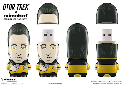 Star Trek Mimobot USB Flashdrives Wave 1 by Mimoco - Data