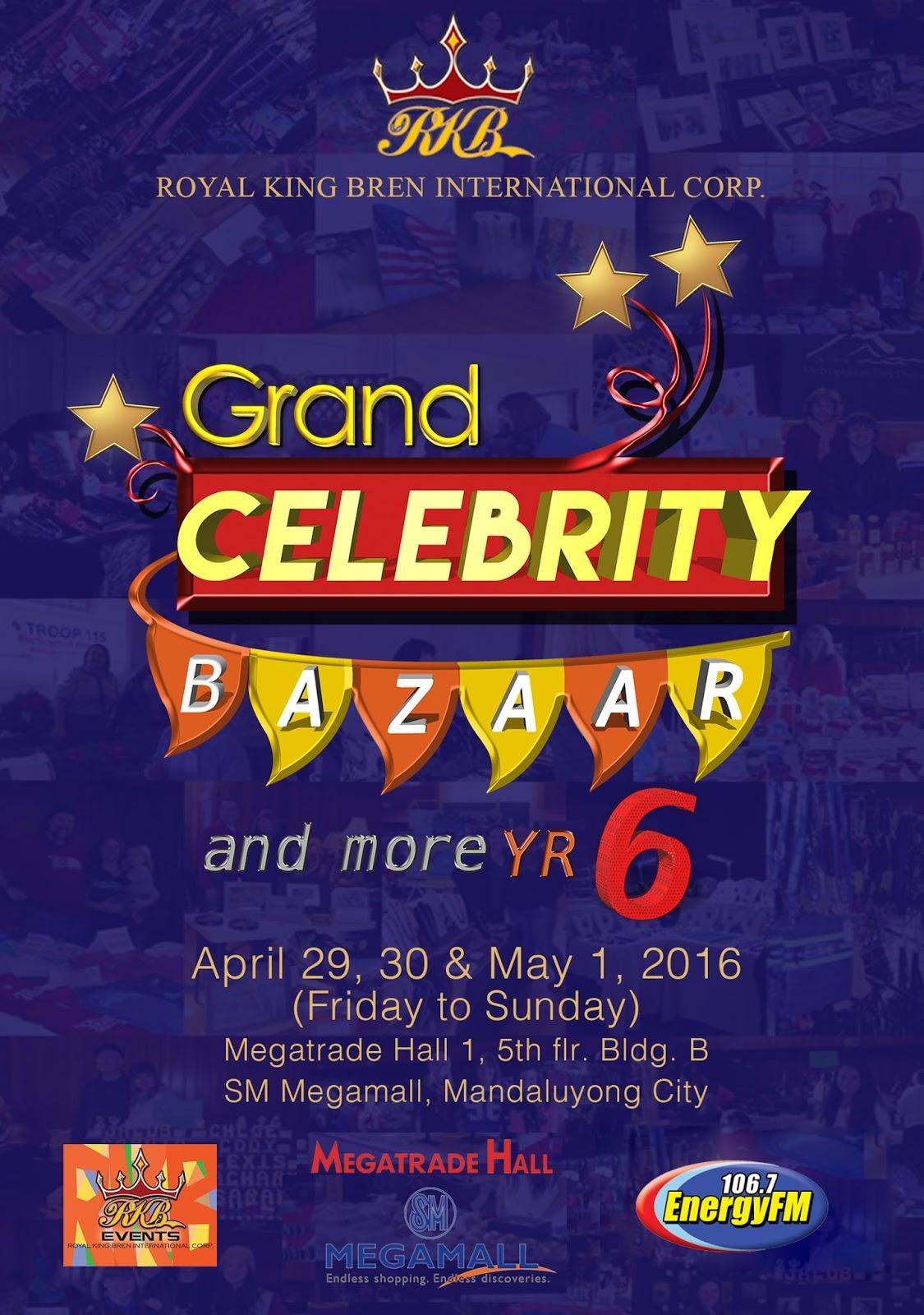 Grand Celebrity Bazaar & More  Yr – 6