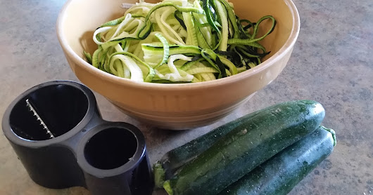 Oodles of Zoodles During Zucchini Season