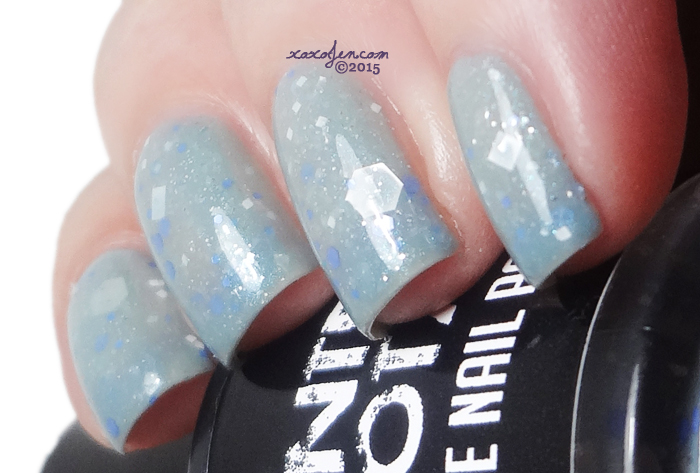 xoxoJen's swatch of Painted Sabotage Ice Flowers