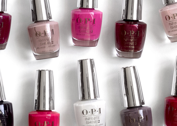OPI Infinite Shine Iconic Collection Nail Lacquers Review Photos
