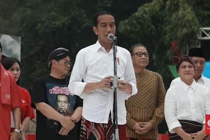 Makruf Amin Sabee Meuija Krong, Jokowi: Wajeb Sok Ija Kroeng Sibuleun Sigö