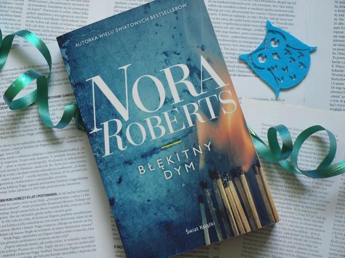 Błękitny dym - Nora Roberts