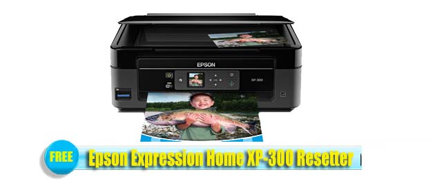 Epson  XP-300 Adjustment Program