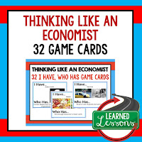 Think Like and Economist, Free Enterprise, Economics, Free Enterprise Lesson, Economics Lesson, Free Enterprise Games, Economics Games, Free Enterprise Test Prep, Economics Test Prep