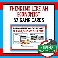 Think Like and Economist, Free Enterprise, Economics, Free Enterprise Lesson, Economics Lesson, Free Enterprise Games, Economics Games, Free Enterprise Test Prep, Economics Test Prep