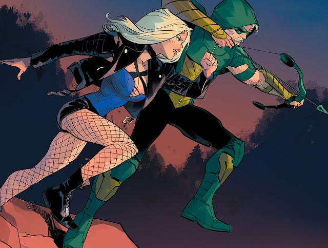 green arrow and black canary comics