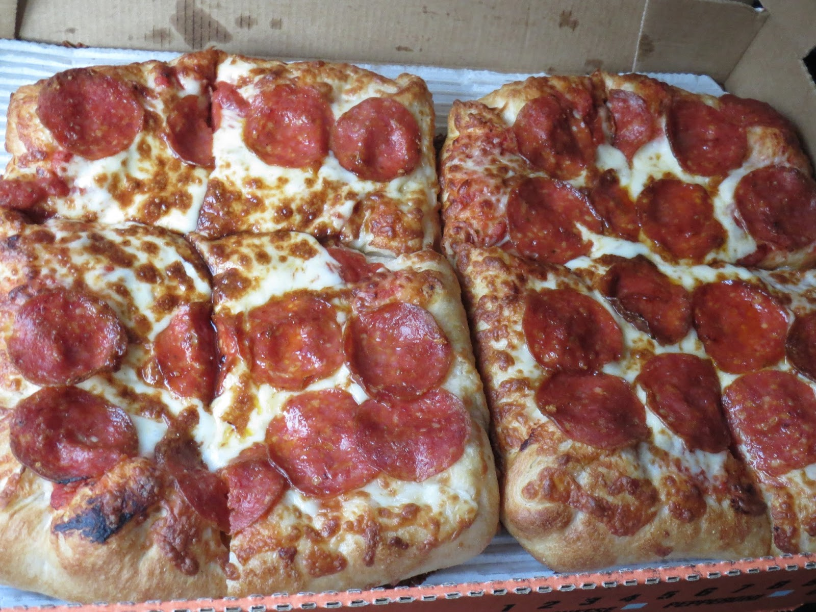 THE INTERNET IS IN AMERICA Little Caesars Stuffed Crust DEEPDEEP Dish Pizza REVIEWED