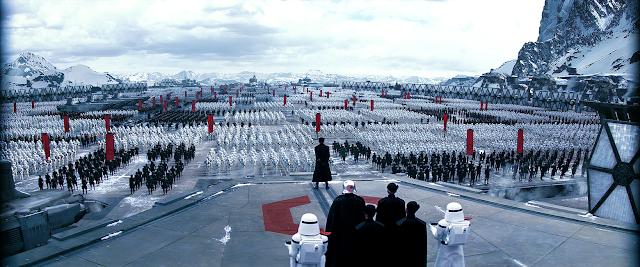 Adunare impresionantă de forţe a Primului Ordin din Star Wars The Force Awakens