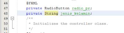 Cara Memasukan Data RadioButton Ke Dalam Database Pada JavaFx 4