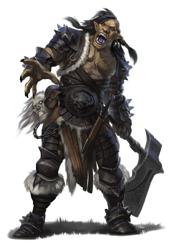 Tower Of The Lonely GM Thematic Pathfinder Races Half Orc
