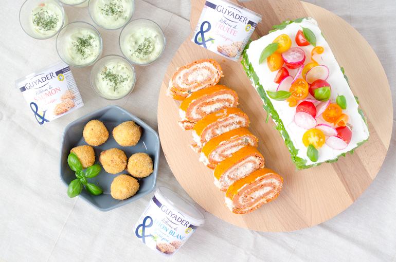 4 recettes pour un ap ro dinatoire je dis m food blog - Apero dinatoire sans four ...