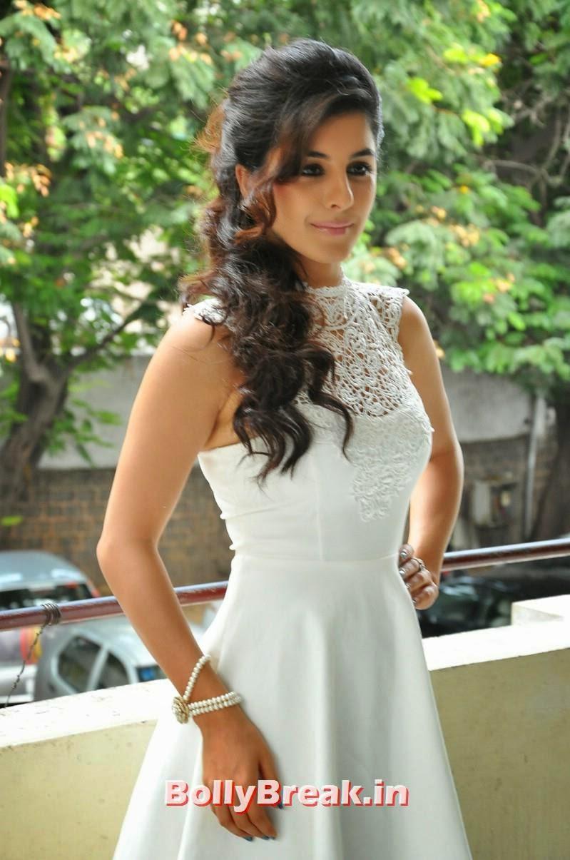 1, Isha Talwar Latest Photoshoot Pics in White Dress