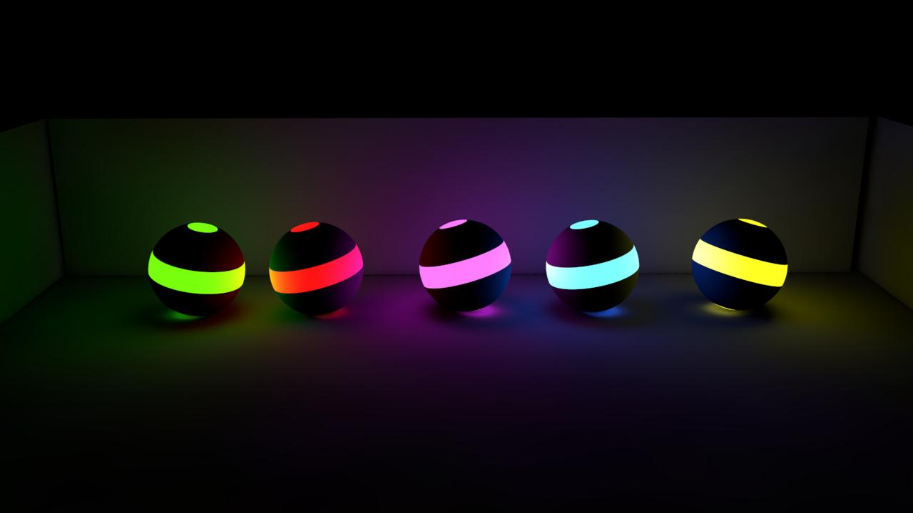 TECHTON VFX: Cinema 4D Light Balls/Neon Balls Download