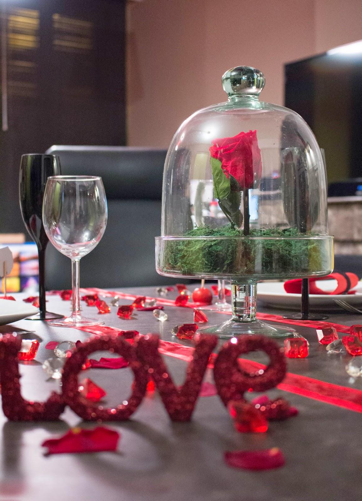 une d coration sp ciale saint valentin ido 39 s. Black Bedroom Furniture Sets. Home Design Ideas