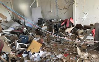 Grupos explodem caixas eletrônicos em Puxinanã e São João do Cariri