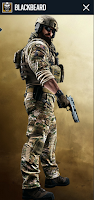 Portrait of Blackbeard - Rainbow Six Siege Operator