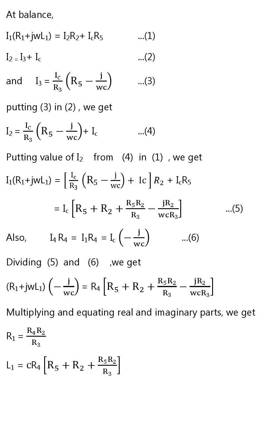 Andersons bridge derivation phasor diagram advantages anderson bridge derivation pooptronica Images