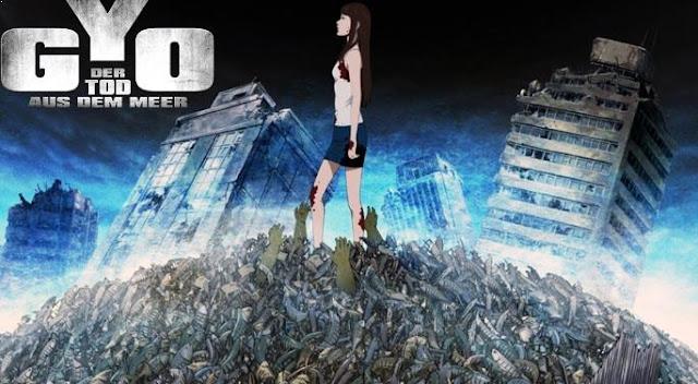 Gyo : Tokyo Fish Attack - Daftar Rekomendasi Anime Buatan Studio Ufotable Terbaik