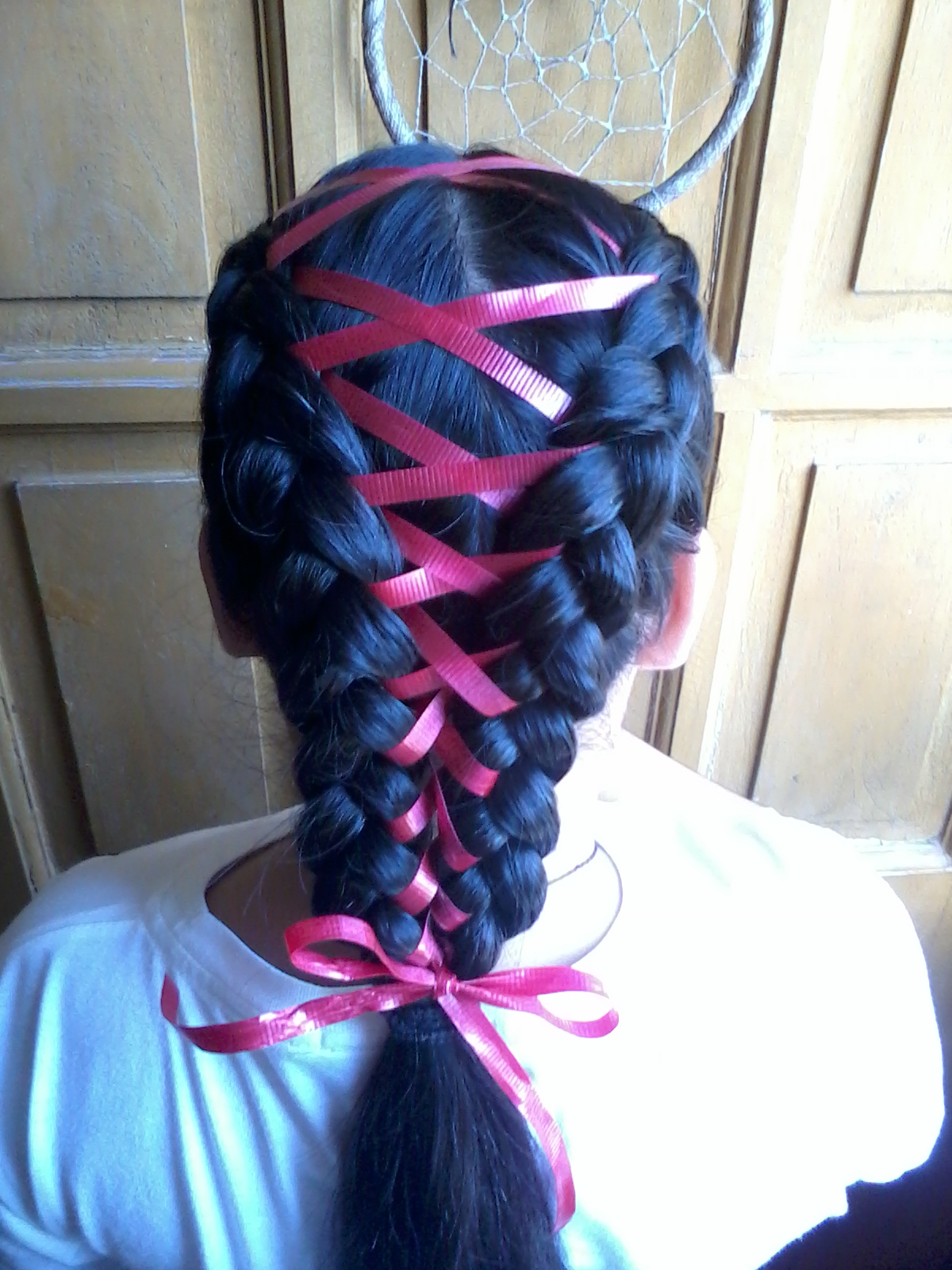 Hair Braid With Ribbon | sam s pretty hairstyles quot the ...