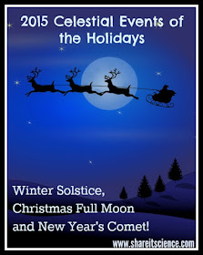 winter solstice christmas full moon new years comet