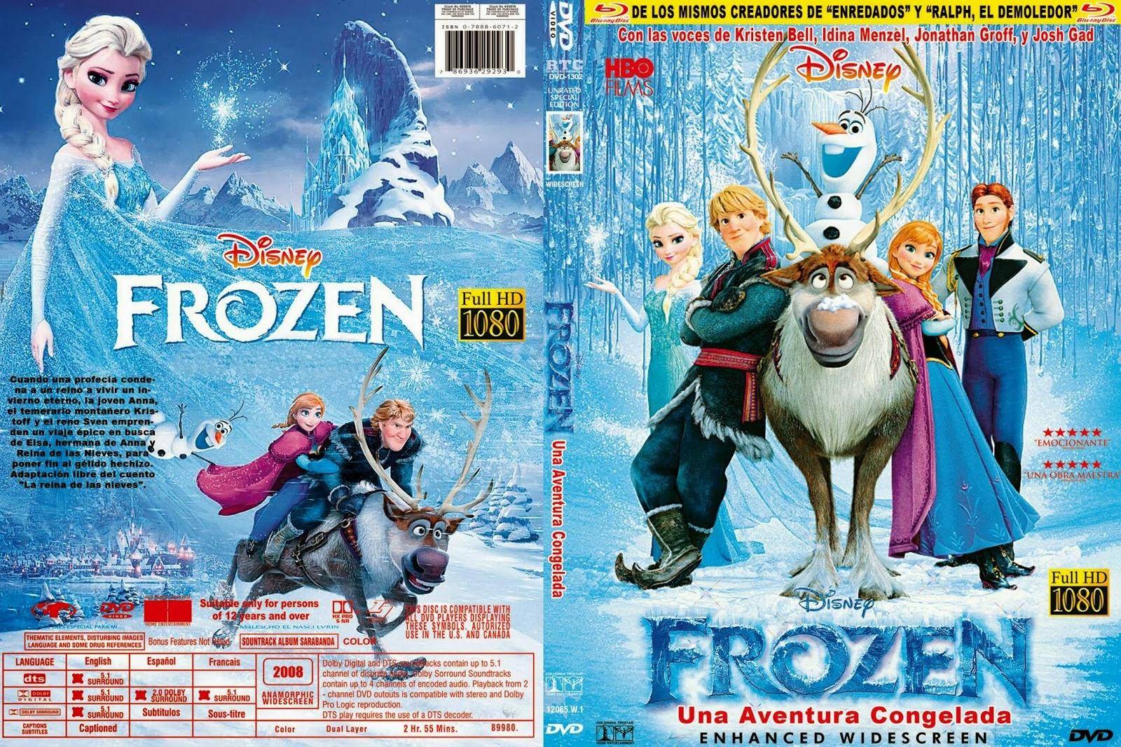 Frozen dvd 2013