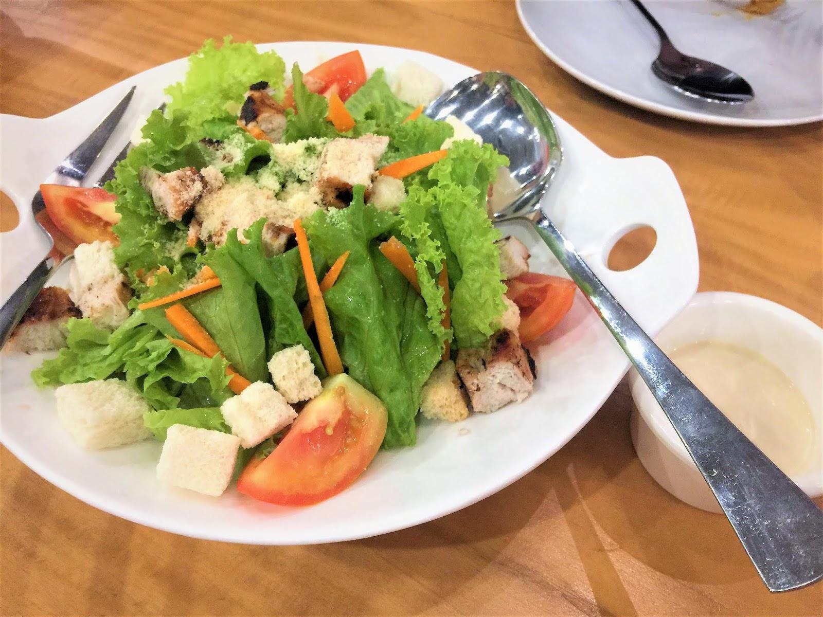 Roberto's Ceasar Salad in SM Marikina