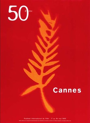 50th cannes film festival poster