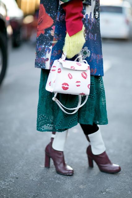 Lip print 2016 street style