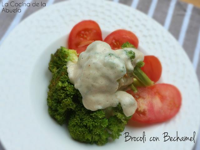 Br�coli en Salsa Bechamel.