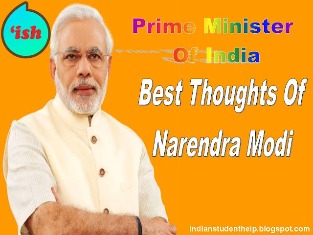 Top 50+ Best Priceless Thoughts Of PM Narendra Modi? In Hindi