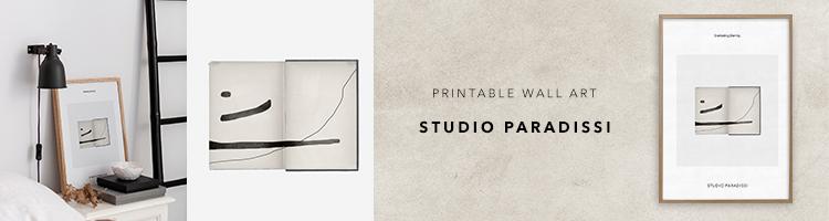 Contemporary Printable Art by Studio Paradissi