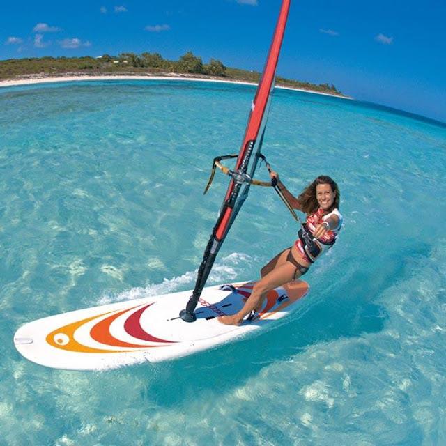 Su Sporları Dendiği Zaman Akla İlk Gelen Spor Dalları - Rüzgar Sörfü - Kurgu Gücü