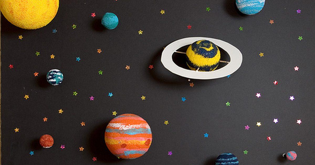Profgeo Xandiza Exemplos De Maquetes Do Sistema Solar