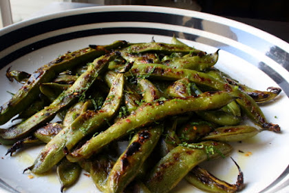Grilled Fava Beans – Flavor Flav, Indeed