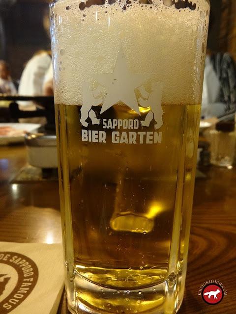 Bière pression Sapporo beer à l'usine
