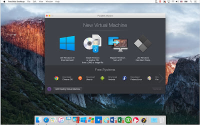 Source: Parallels. A new virtual machine offered in Parallels Desktop 12 for Mac.