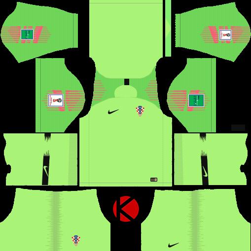 67c3330b887 Croatia 2018 World Cup Kit - Dream League Soccer Kits - Kuchalana