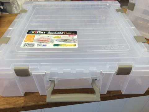 Interiørgleder.no's hobbyblogg: stor oppbevaringsboks og ...
